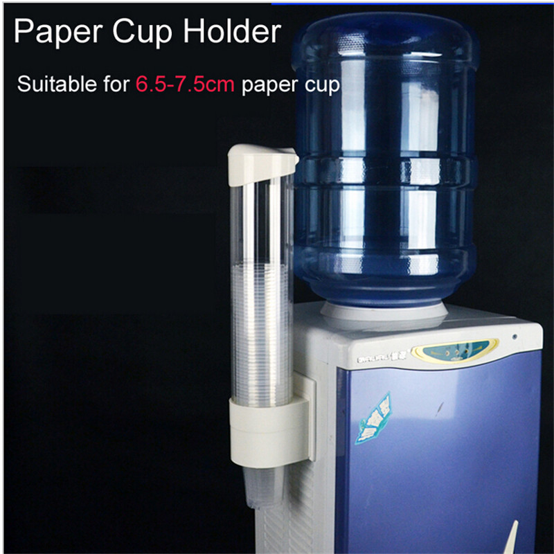 1pc New Plastic Automatic Disposable Paper Cups Storage Holder For Water Dispenser