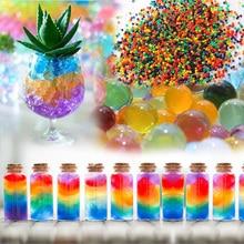 1500 частиц/lot Перл формы Кристалл Почвы Воды Бисер Грязь Расти Магия Желе шарики Растет Воды гидрогель смешать цвет