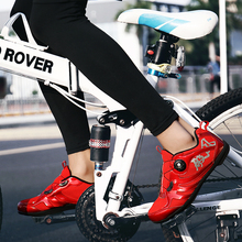 Breathable Mesh Men Women Road Bike Shoes for Cycling Ultralight Non-Lock Non-slip Mountain Bicycle Racing Sneaker