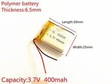Bateria de Polímero Personalizado por Atacado 3.7 V 602530 Frete Grátis de Lítio 062530 Pode Ser CE Fcc Rohs Msds Certificação Qualidade