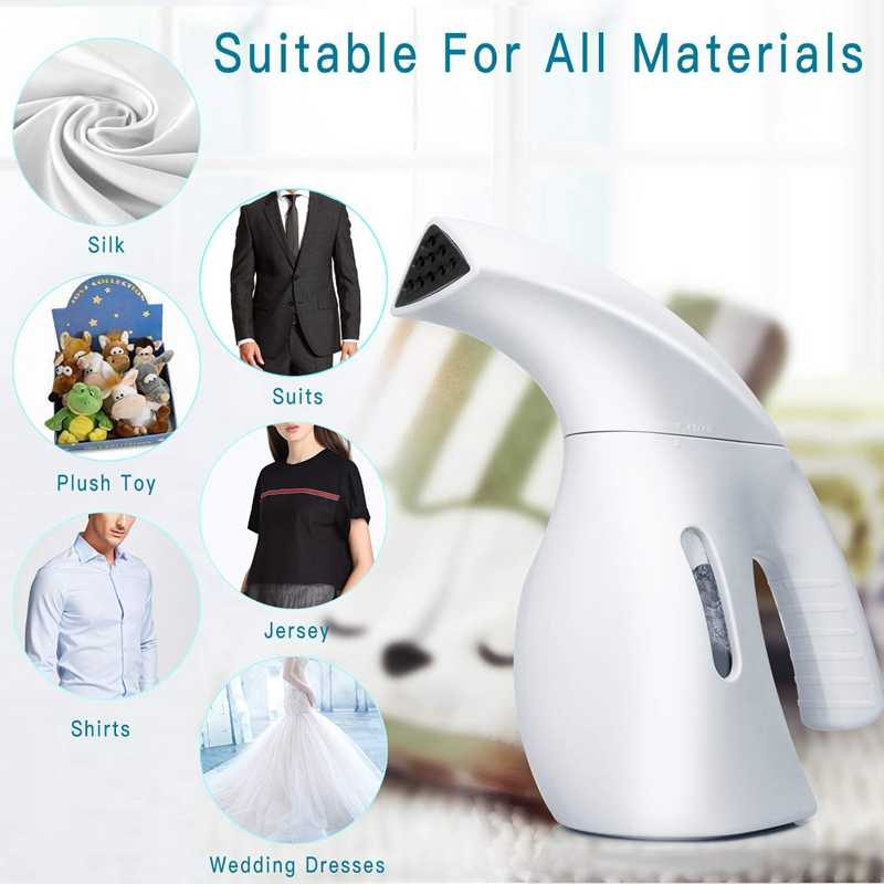 Portable Steamer Handheld Steamer For Clothes Wrinkle Remover Clean Sterilize Sanitize Refresh Treat Defrost Travel Steamer Cl in Garment Steamers from Home Appliances