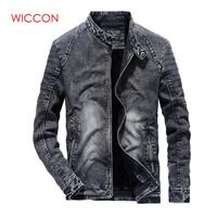 9a7aa5c9f 2019 Fashion Vintage Clothes New Denim Jackets Men Slim Fit Solid Color  Casual Mens Jeans Coat