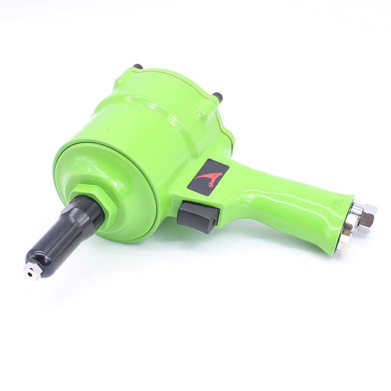 Kwaliteit Pistool Type Pneumatische Klinkhamer Gun Air Klinknagels Tool Industriële Niveau Klinkhamer 18 MM Slag