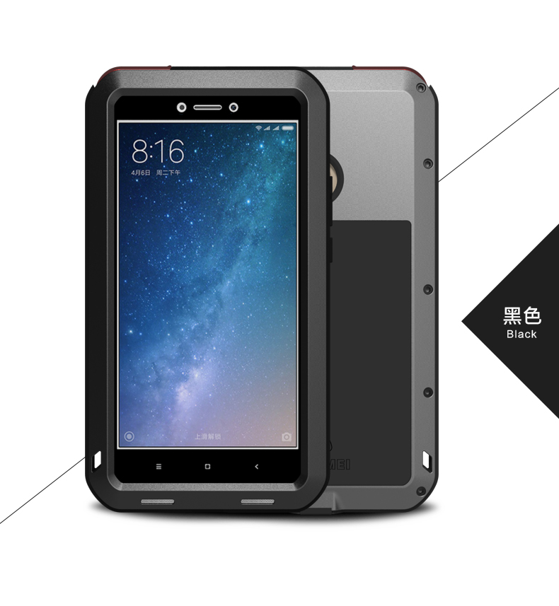 pretty nice 1ada1 6471c US $28.0 20% OFF|Gorilla glass) LOVE MEI Metal Waterproof Case For Xiaomi  Mi Max 2 3 Shockproof Cover For Xiaomi Max 2 Mi Mix 2 2S 3 Mi8 Mi 8 Mi6-in  ...