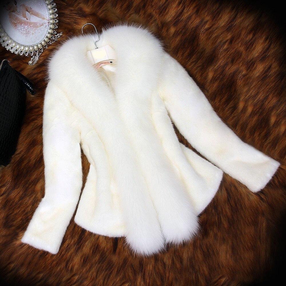 Winter jacket women's new style 2019   suede   fur coat short coat temperament slim slim fit faux   leather   jackets women