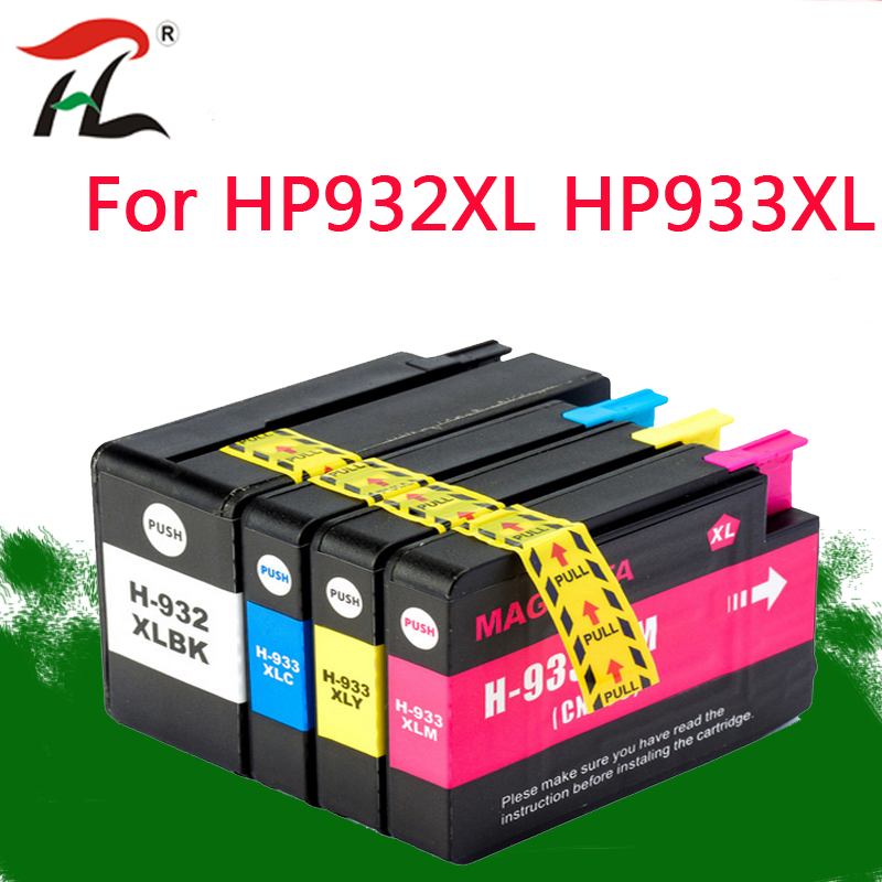 4PK 932XL 933XL Ink Cartridge For HP932XL HP933XL HP 932XL 932 For Hp Office Jet 6100 6600 6700 7110 7610 7612 Printer
