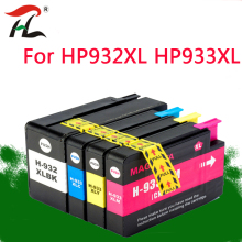 4PK 932XL 933XL Ink Cartridge for HP932XL HP933XL HP 932 hp Office jet 6100 6600 6700 7110 7610 7612 printer