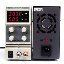 2017 de Alta calidad Wanptek KPS3010DF 0-30 V/0-10A 110 V-230 V 0.1 V/0.001A pantalla Digital Ajustable mini Interruptor de CC fuente de Alimentación mA