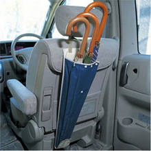 Folding and Hanging the Back Seat of the Chair to Receive Umbrella Foldable Umbrella
