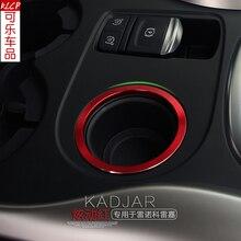 Per Renault Kadjar 2015 2016 2017 2018, di Alta Qualità in lega di alluminio di accensione anello decorativo Auto-Per Lo Styling Accessori Auto Cina
