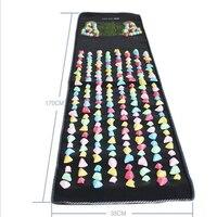 new Mat Walk Muscle Stimulator Health Mattress Home Relaxation Health Care Leg Foot Massage Pad Pain Relief Stone Massager
