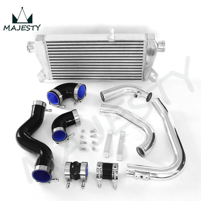 New Front Mount Intercooler Kit For Audi A4 18t Turbo B6 Quattro