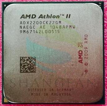 AMD Athlon X2 220 2.8 GHz Dual-Core CPU Processeur ADX220OCK22GM Socket AM3 938pin