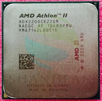AMD Athlon X2 220 2.8 GHz Dual-Core CPU Processeur ADX220OCK22GM Socket AM3 938pin