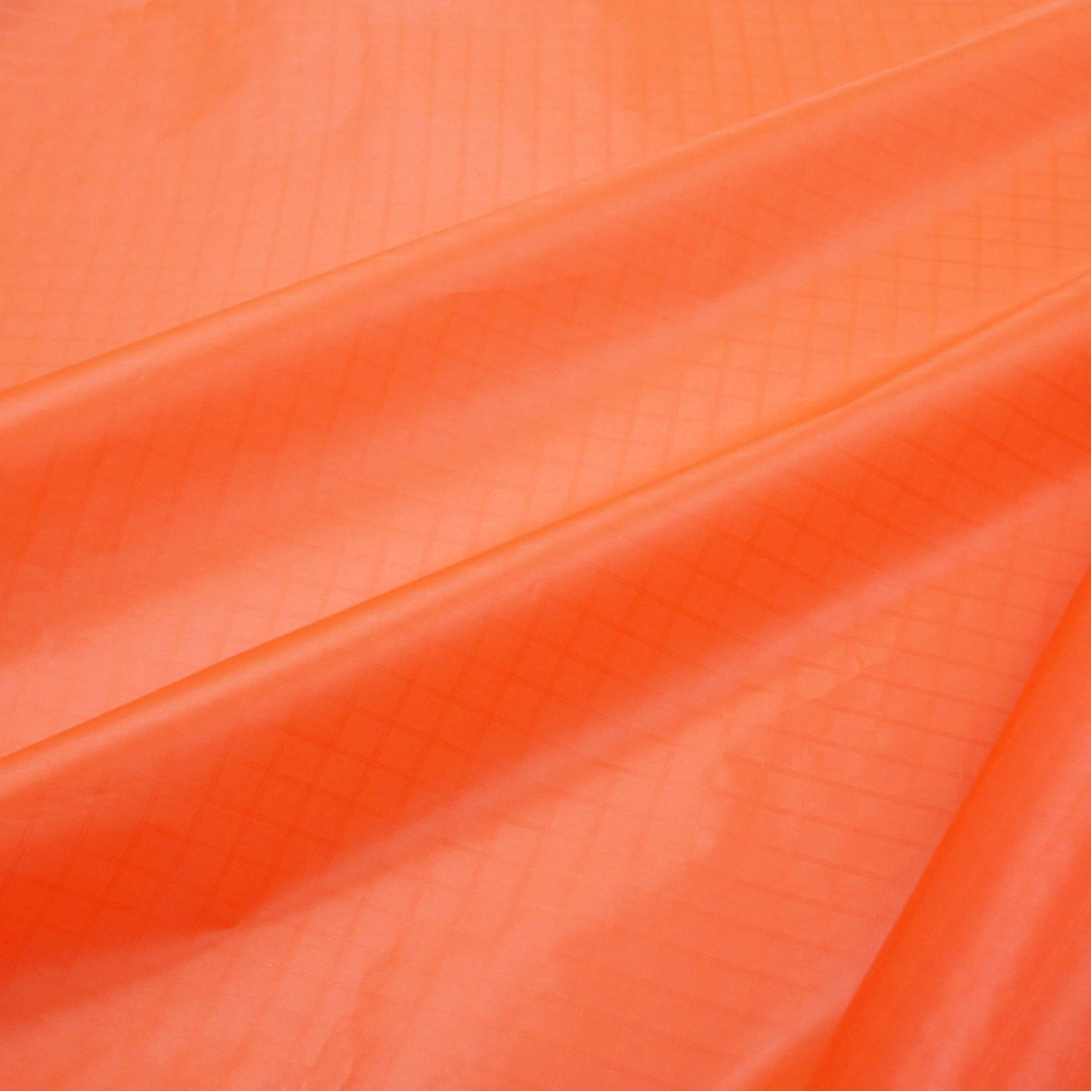 Fluorescent orange pc 20 ripstop nylon fabric waterproof for Nylon fabric