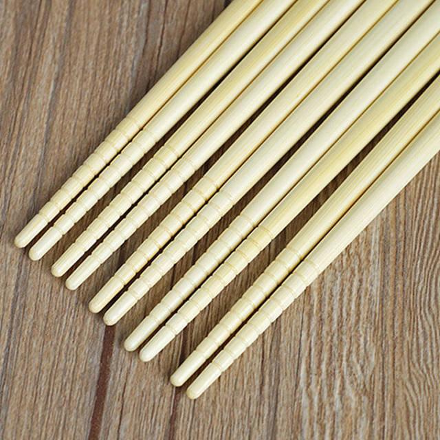 Cute Patterned Eco-Friendly Natural Bamboo Chopsticks Set