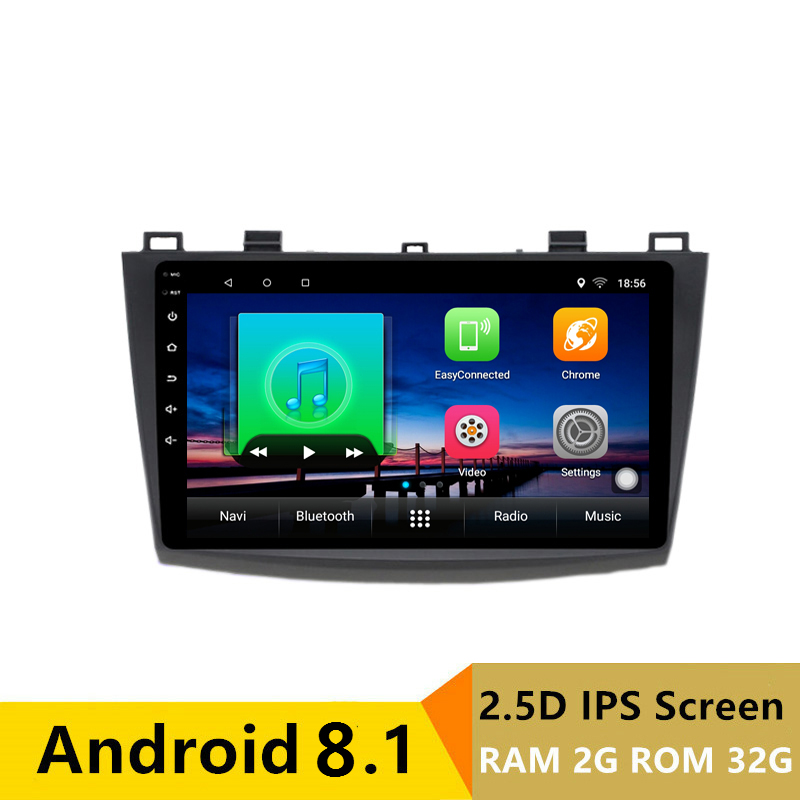 "9"" 2G RAM 32G ROM Android Car DVD Video Player GPS for Mazda 3 Mazda3 2010 2011 2012 2013 audio radio stereo navigation headunit"