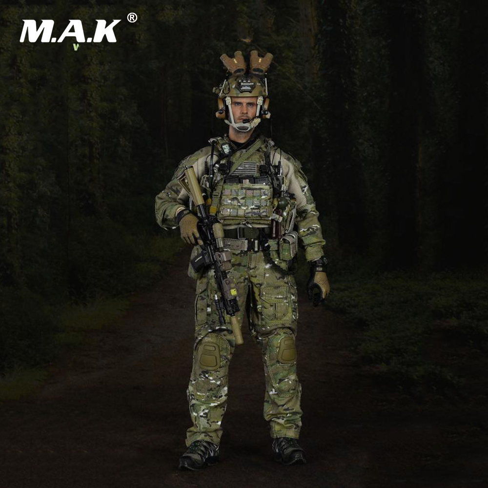 Full Set Action Figure 1/6 Scale 12 Male Mission Unit Seal Figure Woodland Warfare Tier-1 Operator Part IV for CollectionFull Set Action Figure 1/6 Scale 12 Male Mission Unit Seal Figure Woodland Warfare Tier-1 Operator Part IV for Collection