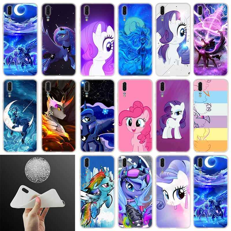 Soft Silicone Phone Case my little pony For Huawei P30 P20 P30Pro P10 P9 P8 Plus Lite 2017 P samrt 2019 Cover