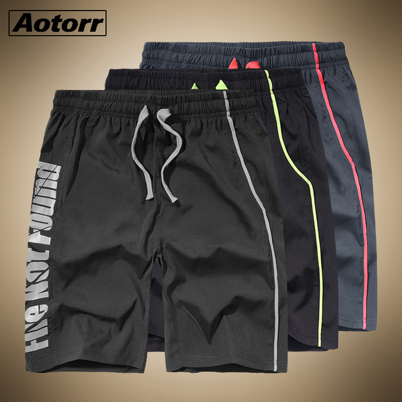 Pants Boardshort Trunk Sport Breathable Running Pocket Quick-Drying Male Solid Outwork