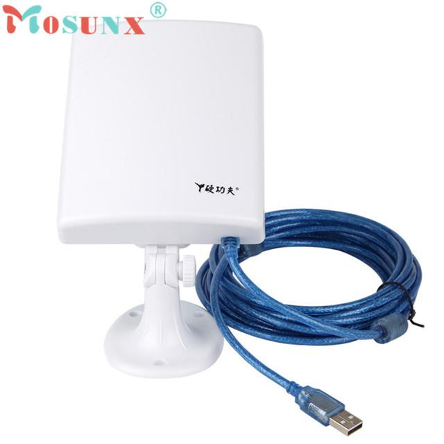 Nova CMCC Alto Ganho de Longa Distância Ao Ar Livre À Prova D' Água 150 M USB Adaptador Sem Fio Wi-fi