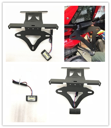 Motorcycle license plate frame Turn signal lamp bracket for YAMAHA ...