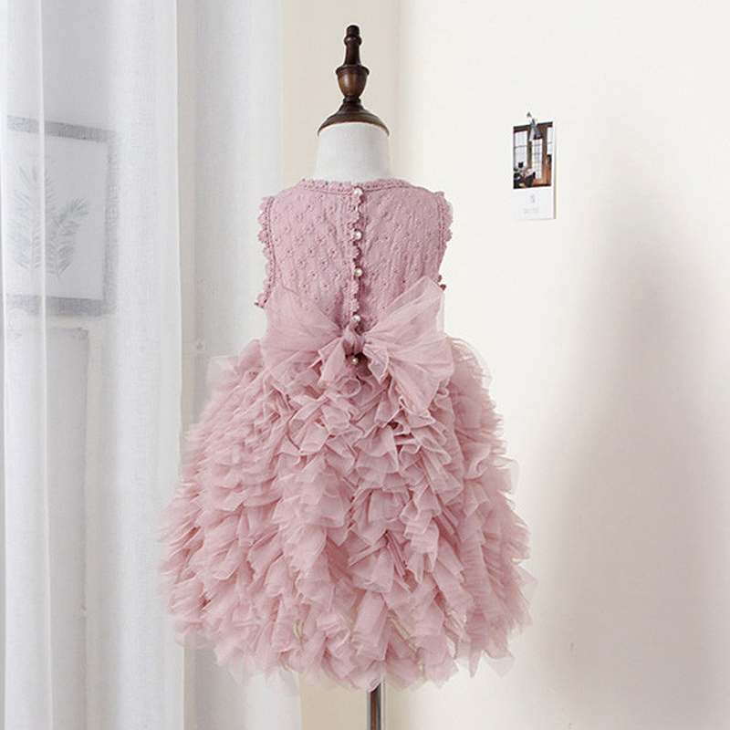 Summer Flower Girl Dresses Wedding Party Kids Tutu Birthday Princess Dress for Girls Infant Children Clothing Girl Baby Clothes dresses for girls wedding dress charistmas dresses birthday kids baby girl clothes princess dress new year party clothing gh334