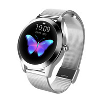 KW10 Women Smart Wristband Blood Pressure Heart Rate Monitor Bluetooth Fitness Watch amazfit bip watch smart watch ip68