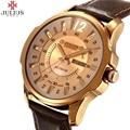 De Lujo más nuevo de marca JULIUS Hombres de negocios Relojes de Moda casual Relojes de Cuarzo relojes Militares Reloj masculino Relojes de Pulsera JA-017