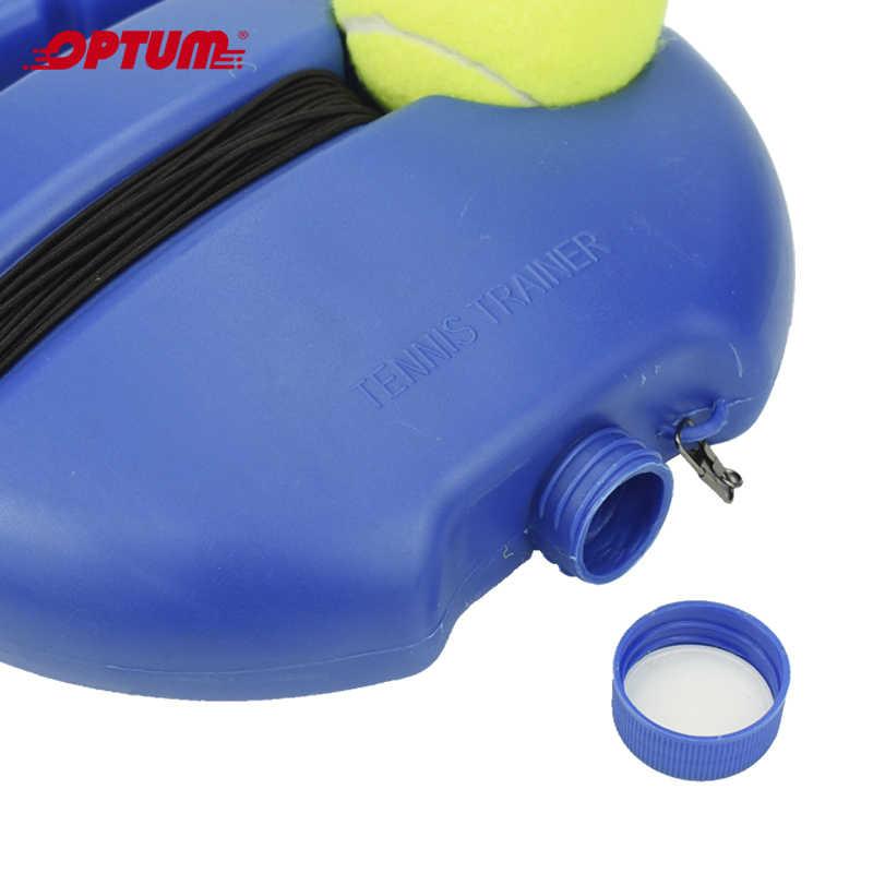 Ağır tenis eğitim aracı egzersiz tenis topu spor kendinden çalışma ribaund topu tenis eğitmeni süpürgelik Sparring cihazı