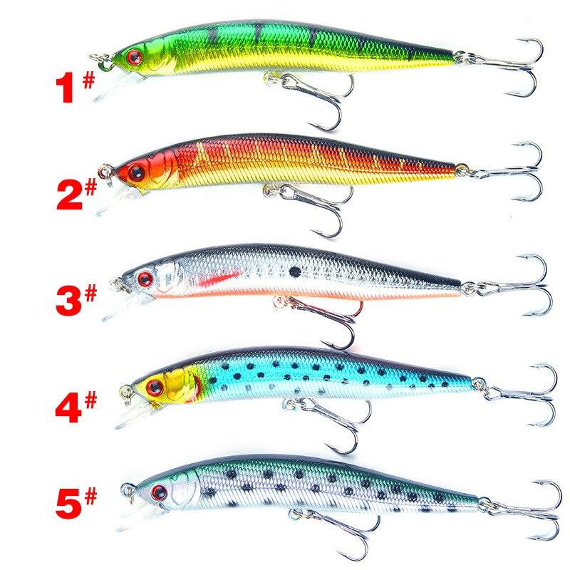 1Pcs Minnow Lures Kit Hard Baits Sinking Fishing Lures Durable Crankbaits