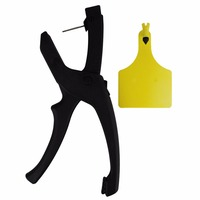 1pcs Ear Tag Applicator for Cow Goat Pig Horse Cattle Tool Plier Force Applicator Monolithic Integrated Ear Tag Plier