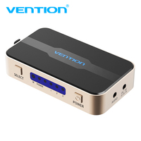 Vention HDMI Splitter 3 Input 1 Output 4K 3Port HDMI Switcher With Toslink Audio 3D 2160P