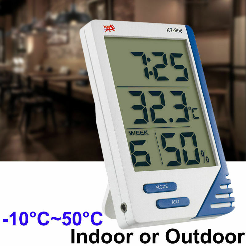 High accuracy LCD Digital Thermometer Hygrometer Indoor Outdoor Electronic Temperature Humidity Meter Weather Station