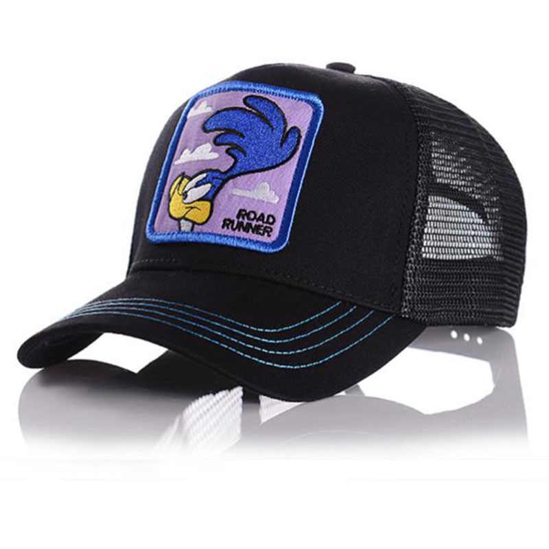 漫画アニメドラゴンボール野球キャップ男性女性スナップバックヒップホップキャップ夏通気性メッシュトラック運転手の帽子お父さん帽子
