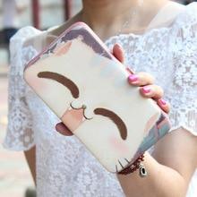 Women's Cat Purse Designer Wallets Famous Brand Cute Wallet 2016 for Women High Quality Stylist femme Evening Clutch Bags