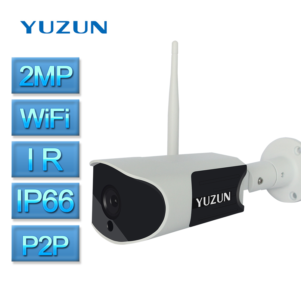 IP camera 1080p Wireless security camera IR Cut Night Vision wifi bullet onvif cctv camera system ip66 Waterproof