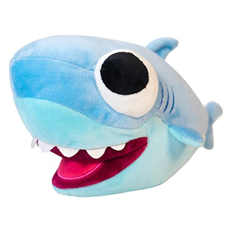 Baby Shark Plush 25cm Big Eyes Shark Plush Toy Baby Animal Shark Official Soft Stuffed Dolls For Kids Gift
