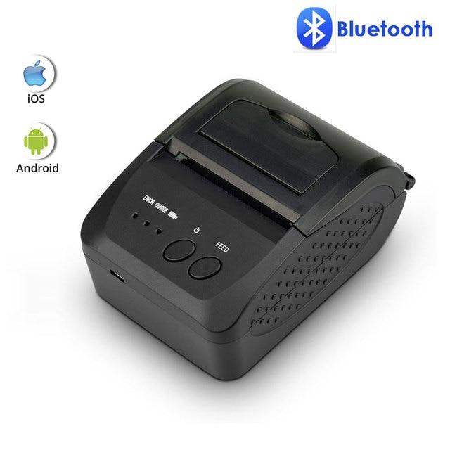 NETUM 1809DD portátil 58mm Bluetooth impresora térmica compatible con Android/IOS y 5890 K impresora térmica USB para sistema de POS