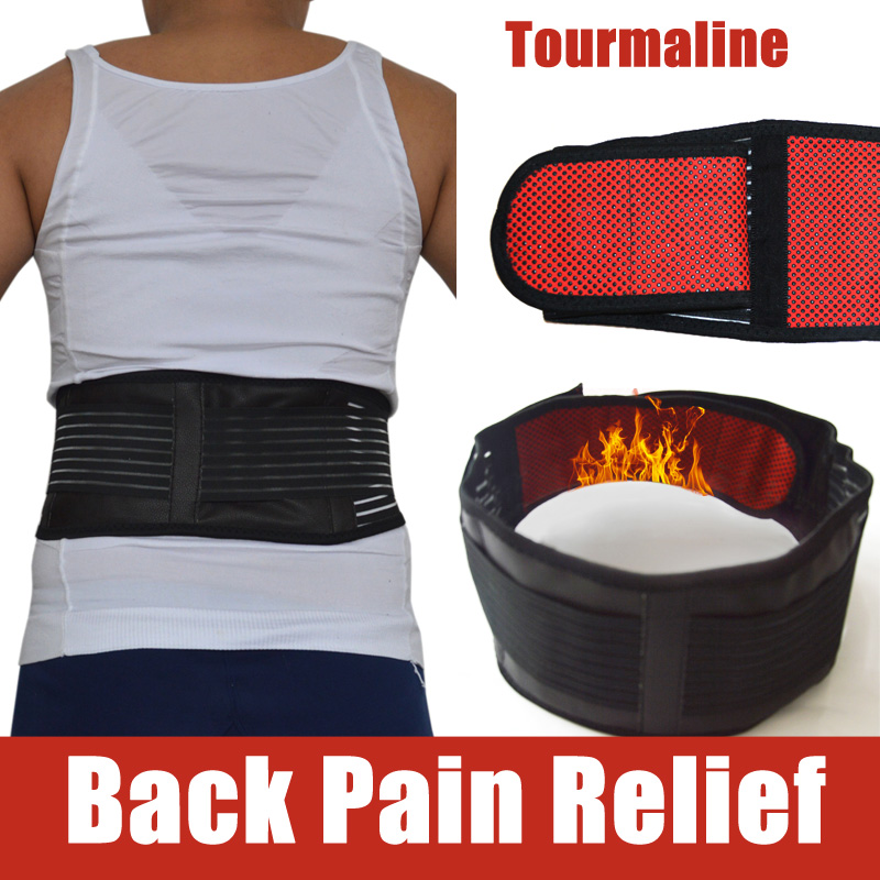 Adjustable Tourmaline Self-heating Magnetic Therapy Waist Lumbar Support Belt Training Back Orthopedic Posture Corrector Corsets