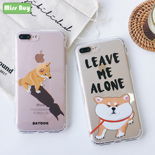 3a1d4626e17 Missbuy 2018 New Clear Phone Case for iPhone 7 8 6 6s Plus Case Cover Cute