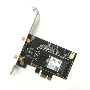 Image 3 - デュアルバンドデスクトップ PCI E 1X ワイヤレス AC 9260 インテル 9260NGW 802.11ac 5 2.4ghz 1.73 5gbps WiFi Bluetooth 5.0 ゲーム windows 用の 10