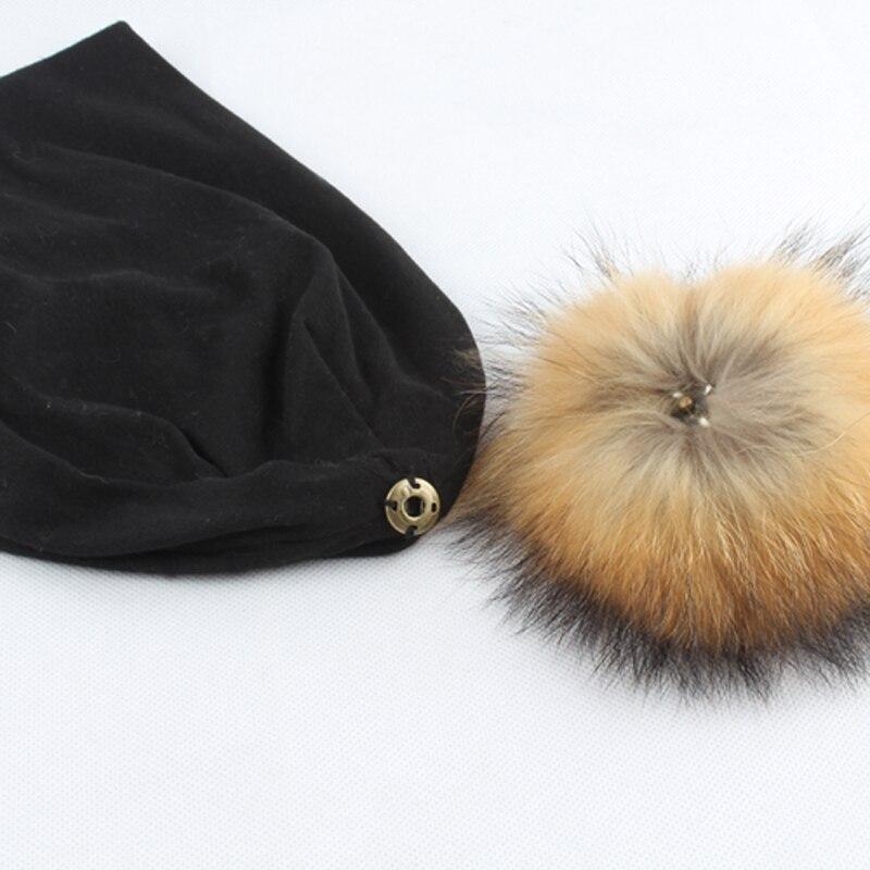 Rudens žiemos unisex vientisos spalvos medvilnės skullies pupelės - Drabužių priedai - Nuotrauka 6