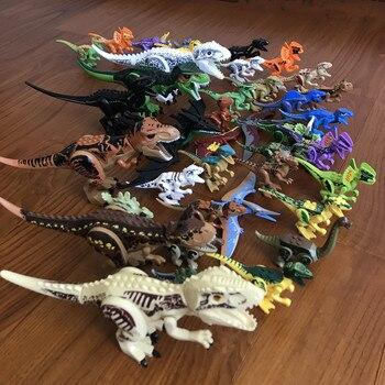Kompatibel Legoing Jurassic Welt Park Tyrannosaurus Dinosaurier Rex Velociraptor Ridgeback Modell Building Block Set 2018 Heißer verkauf