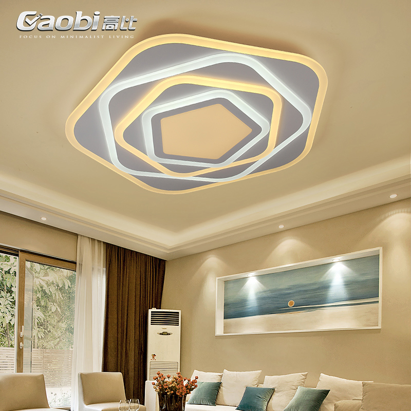 LED novelty Acrylic ceiling lights modern living room ceiling lamps creative bedroom Fixtures dining room ceiling lighting цена 2017