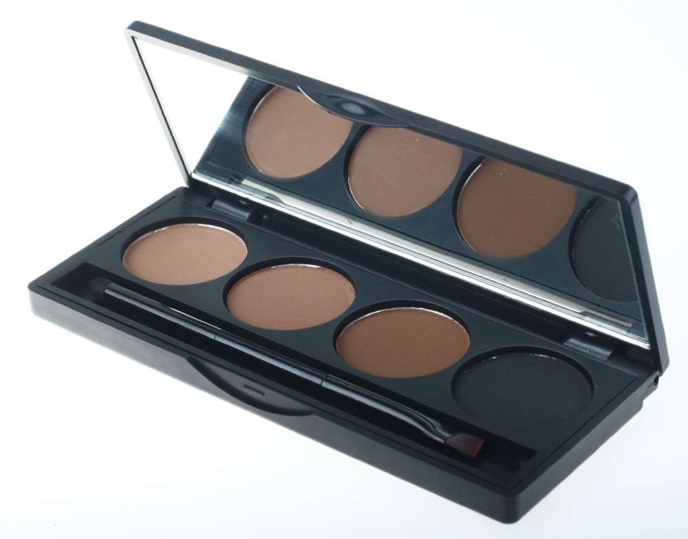 eyebrow shadow. free shipping 2016 hot professional 4 color eyebrow powder/shadow palette with makeup brush eyebrow for eye enhancer-in enhancers from shadow