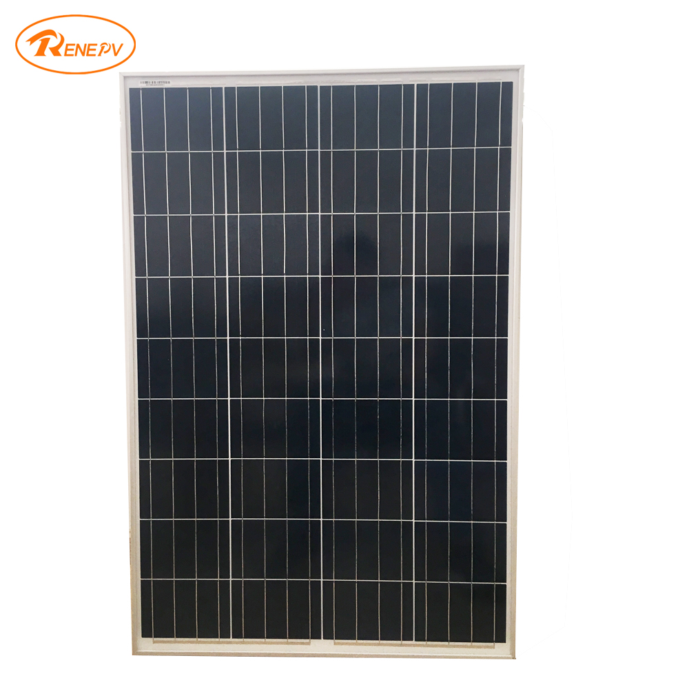 Renepv 100W Polycrystalline silicon cells 18V power charging solar panel for outdoor use renepv 20w polycrystalline solar panels 18v for 12v battery power charging kit