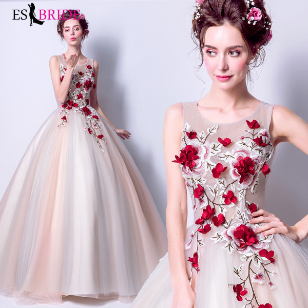 Robe Rose rouge Occasion spéciale robes De Fiesta De Noche Robe De soirée Robe De soirée robes De soirée Robe De soirée ES2023