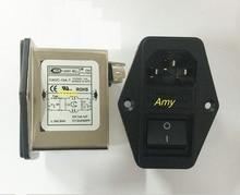 Filtre EMI de puissance CW2C 3A 6A 10A T purifiant ca 220V monophasé