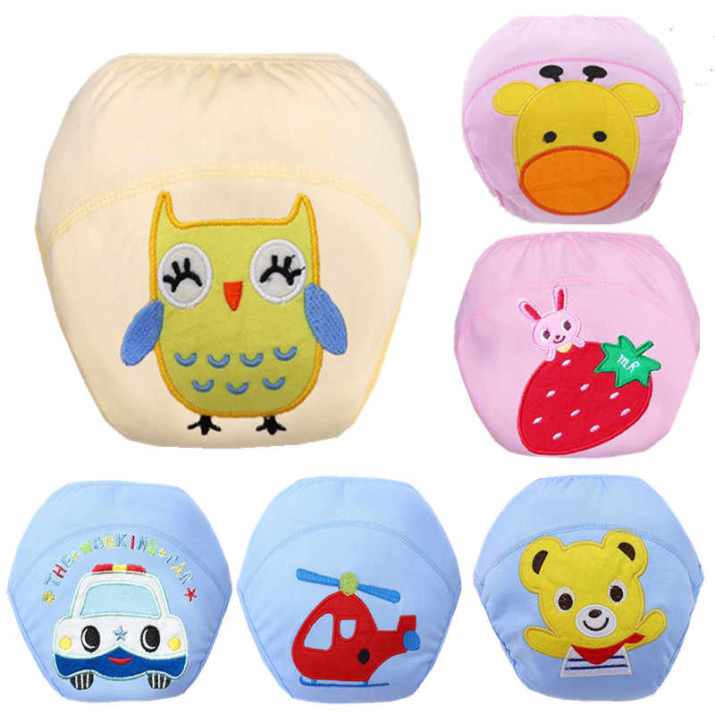 Baby Diapers Reusable Nappies Cloth Diaper Nappy Washable Toddler Girl Boys Baby Waterproof Cotton Potty Training Pants